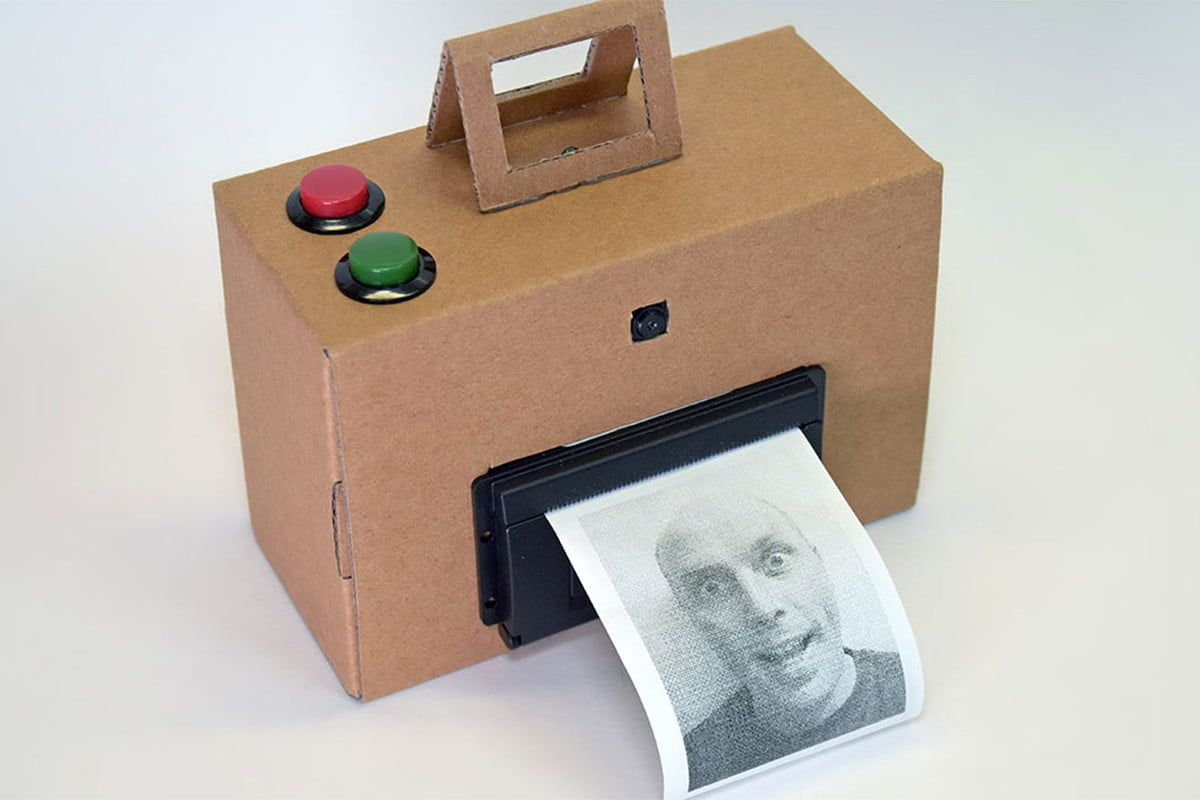 instant camera raspberry pi thermal printer