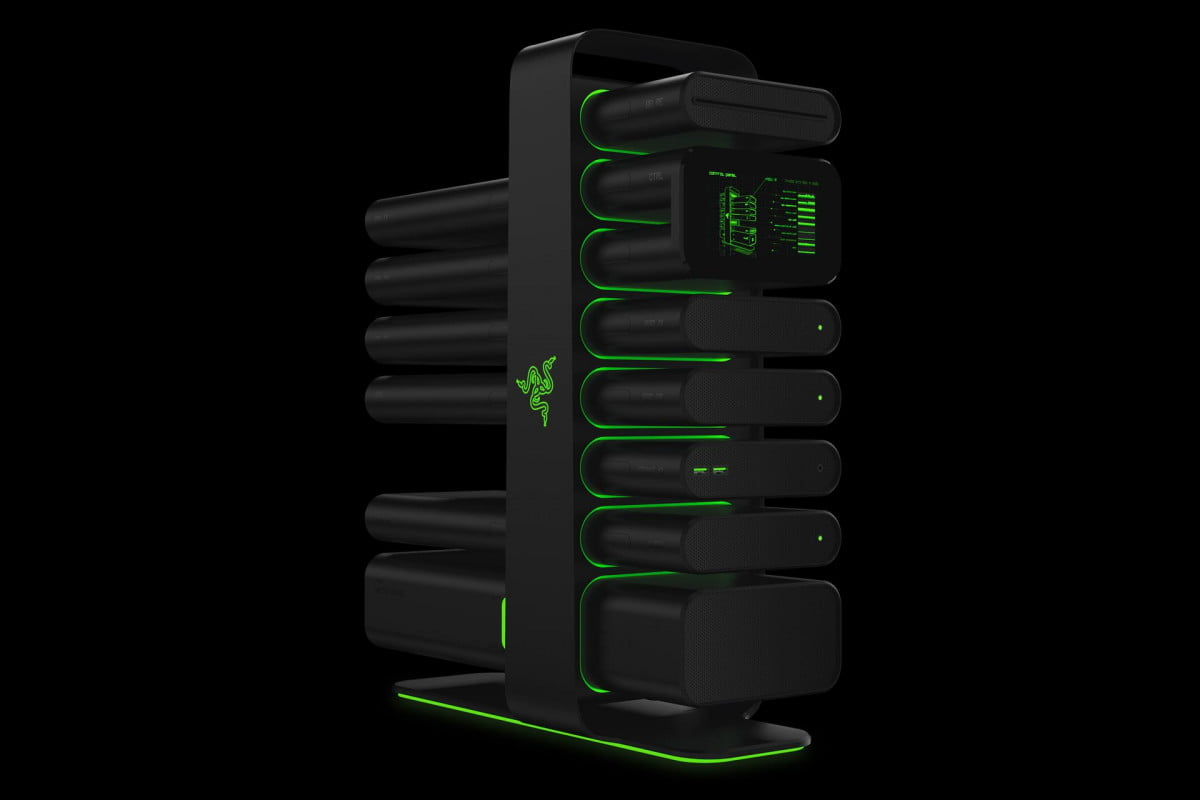 razer introduces never ending computer project christine gallery