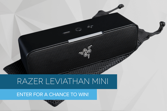 razer leviathan mini bluetooth speaker giveaway