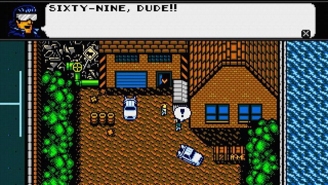 Retro City Rampage -- Bill & Ted's Excellent Adventure reference
