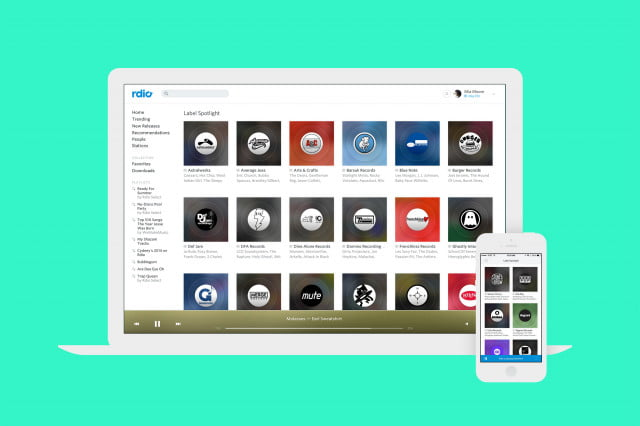 rdio subscriptions cancelled transition to free label stations
