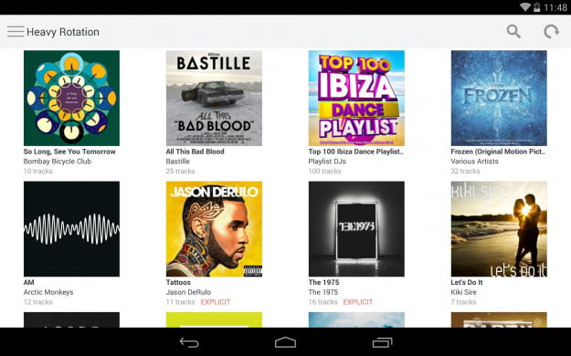 Rdio_Android_tablet_app_screenshot