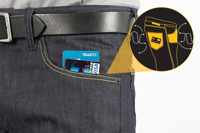 jeans rfid blocking identify theft ready