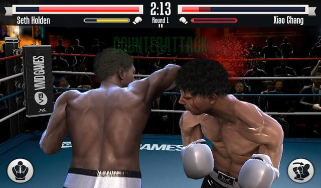 Real Boxing Screen