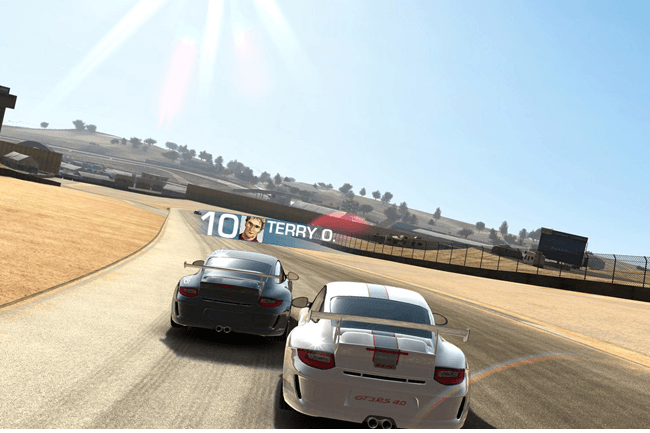 real racing 3 header