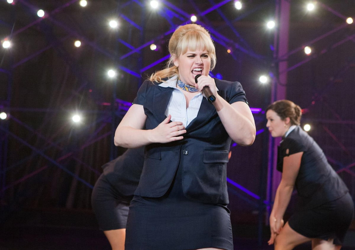 pitch perfect star lining one new ghostbusters rebel wilson