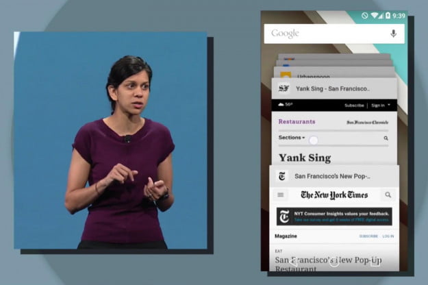 Recent Apps Android L