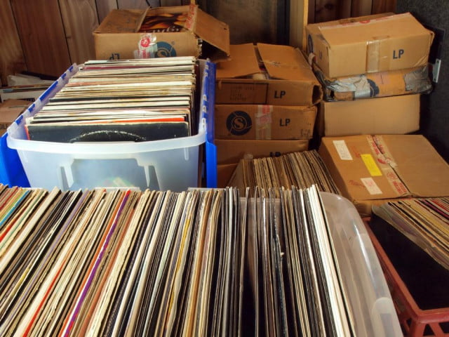 vinyl record database reseller discogs to launch mobile app records in boxes