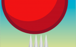 Red Bouncing Ball Spikes charges $1 for the honor of bouncing a red ball. It's #2 on iTunes Paid Games.