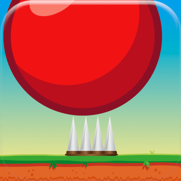 red-bouncing-ball-spikes-icon