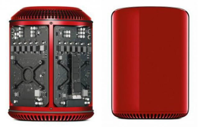 red mac pro sothebys auction bono apple