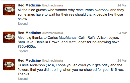 red medicine twitter ousting