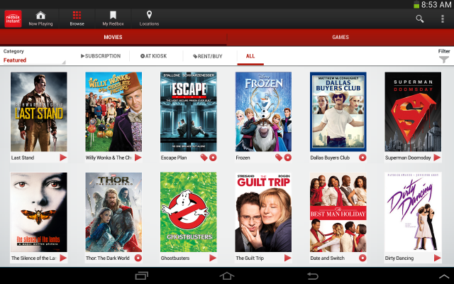 redbox instants android app is the latest to tie in chromecast support