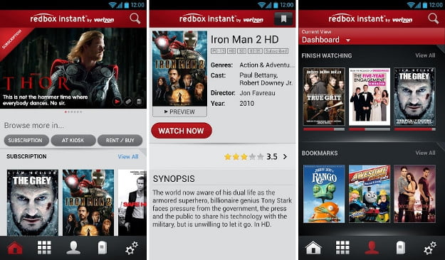 redbox instant android