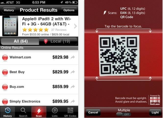 RedLaser Shopping App