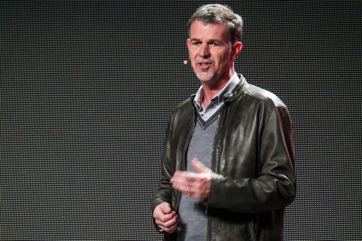 netflix net neutrality reed hastings ces