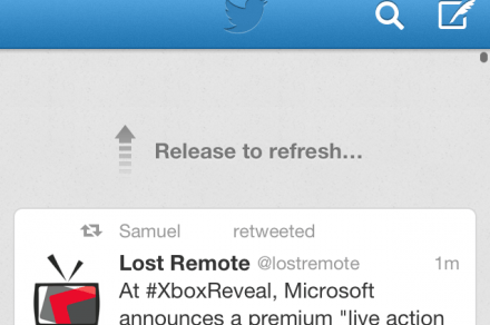 release to refresh