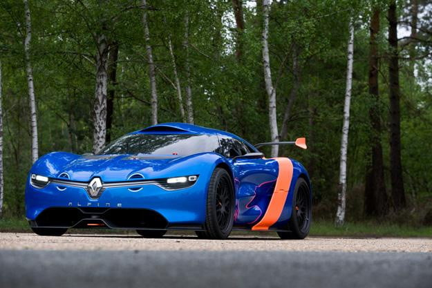 Renault Alpine A110-50 concept angle front