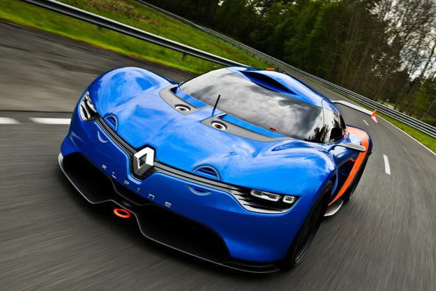 Renault Alpine A110-50 concept has us saying ooh la la to this French beauty