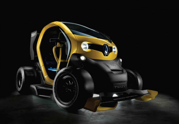 Renault Twizy Renault Sport F1 front three quarter