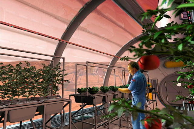nasa looking for new deep space habitation prototypes rendering of life on mars habitat