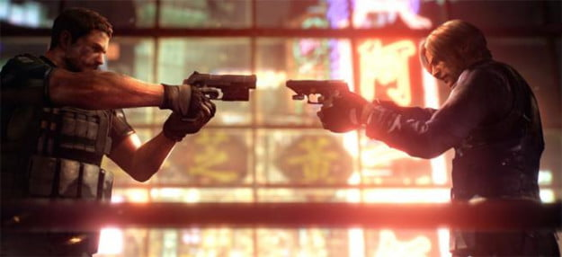 resident evil 6 game characters