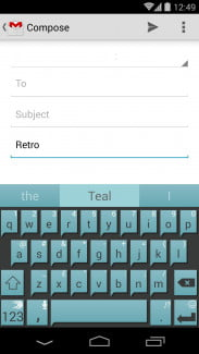 SwiftKey Retro Teal