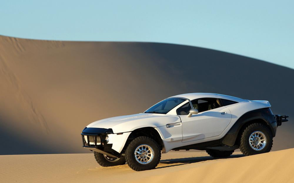 local motors to build  d printed electric car rally fighter