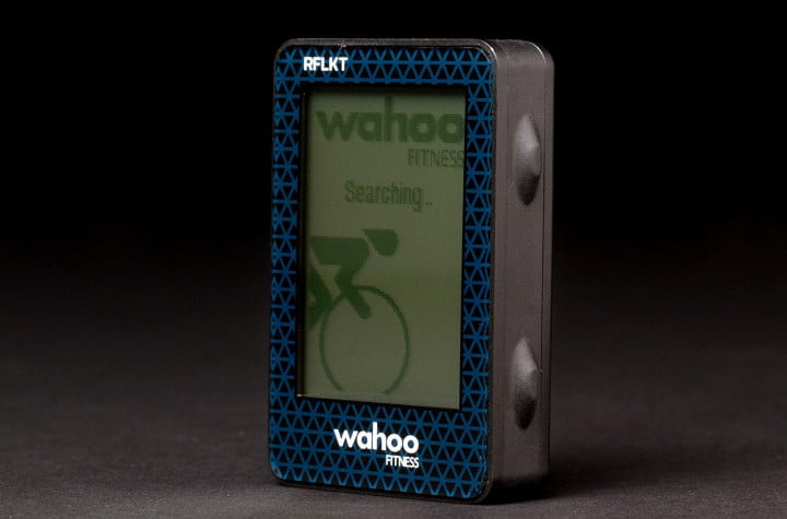 wahoo fitness rflkt review front left angle