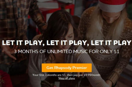 Rhapsody - Unlimited Music Anywhere(1)