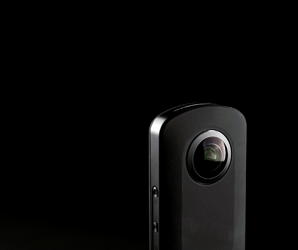 Point, click, capture everything. Ricoh's Theta S is the iPod of 360 cams