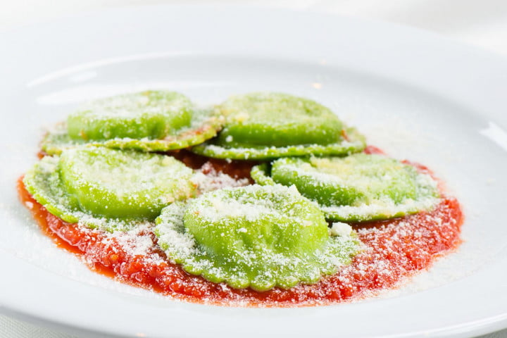 ipads are replacing waiters in airport restaurants ricotta ravioli (tesori  chef mario carbone)