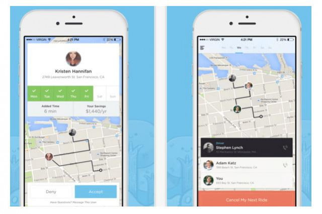 uber co founder launches carpooling app ride