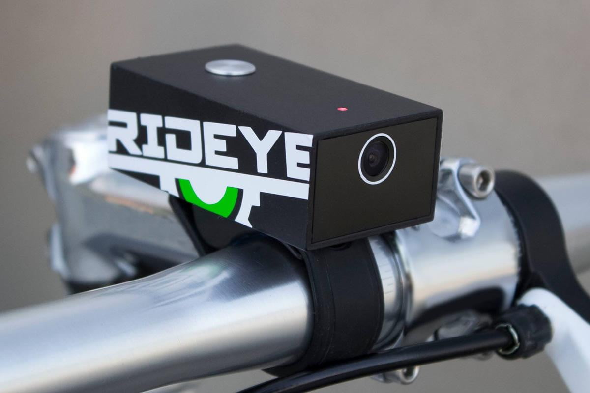 rideye is a black box recording system for cyclists bicycle