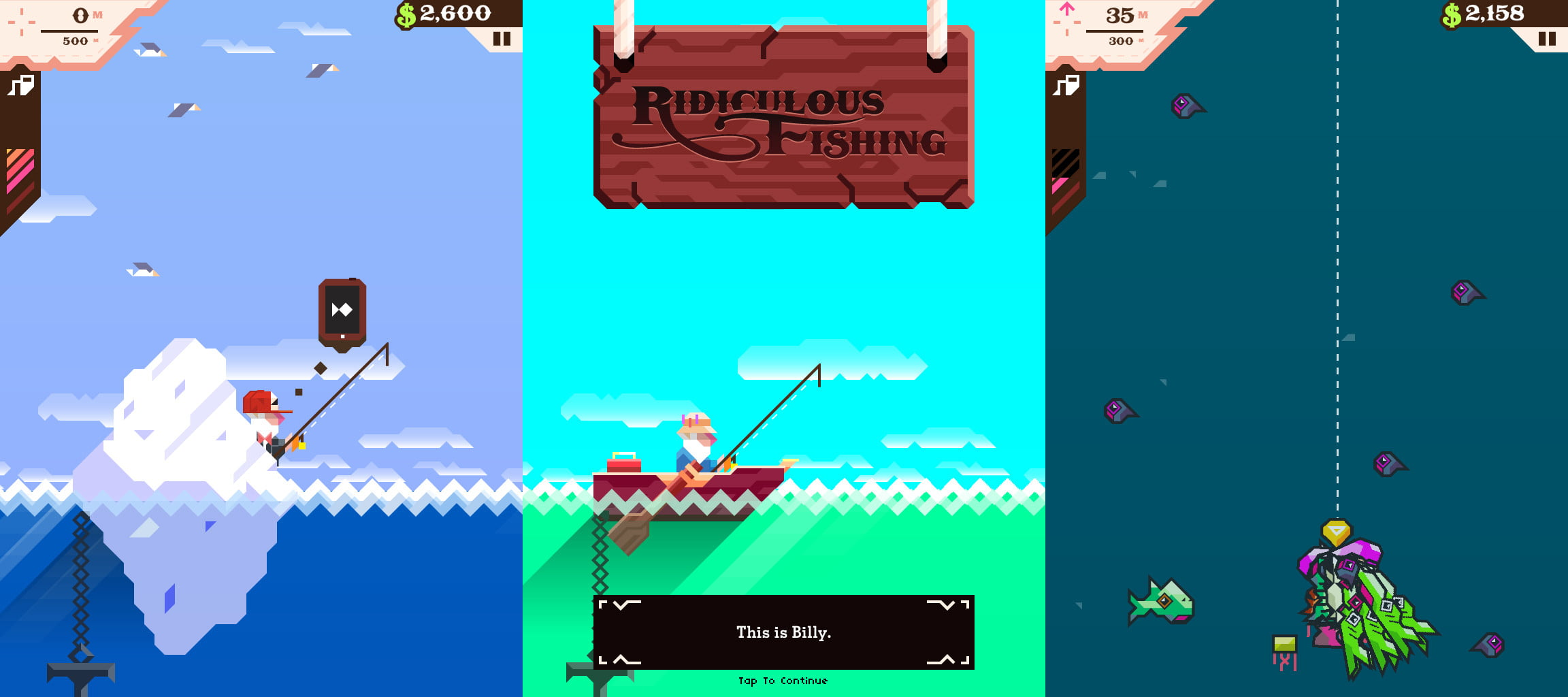 39 ridiculous fishing 39 review catch fish then blow them to for Fish catching games