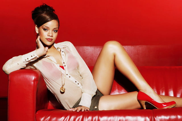 music streaming surpasses video in the first half of  rihanna musician robyn fenty