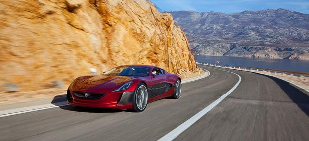 Rimac Concept One Croatia's quiet Bugatti killer