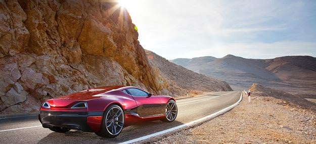 Rimac Concept One Rear Exterior