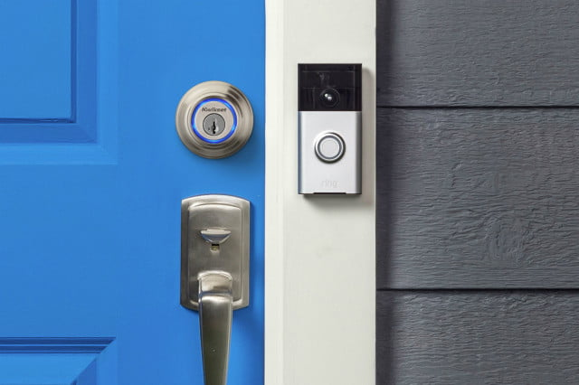 ring and kevo work together as part of plus door bell