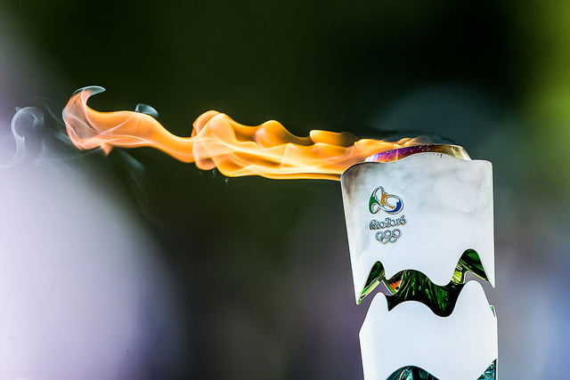 twitter rio olympics coverage torch