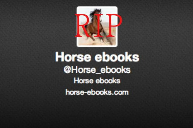 long live horseebooks even if it catfished us rip