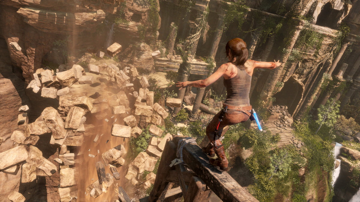 rise of the tomb raider steam page