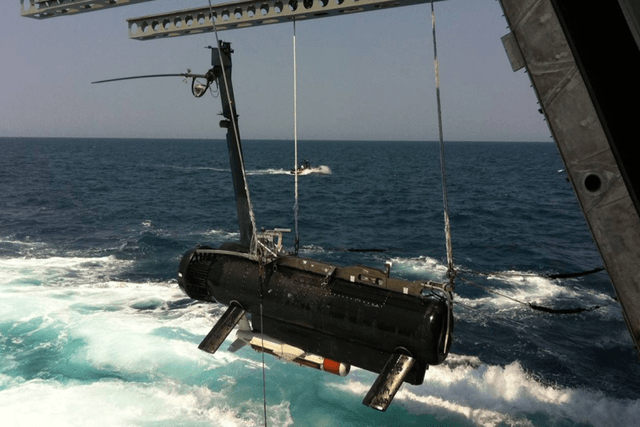 us navy  million mine detecting ship fails tests rms