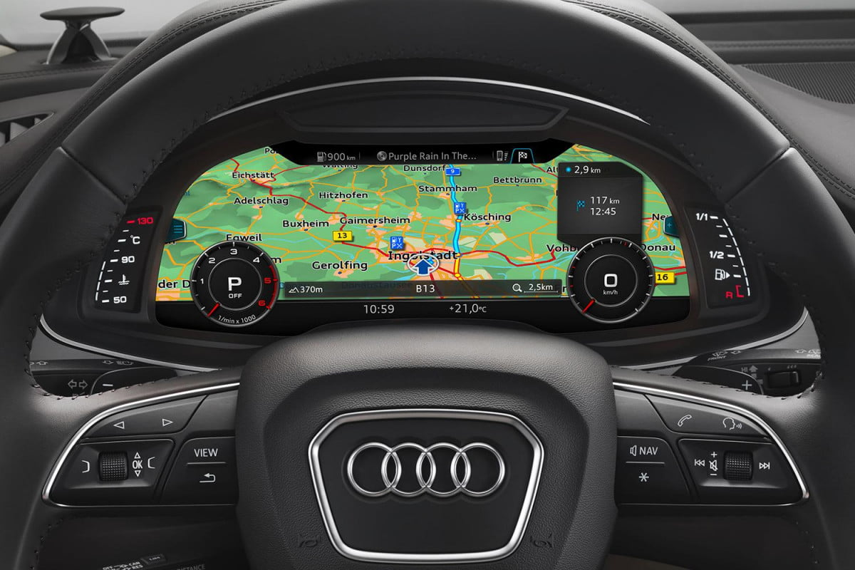 audi using tomtom maps for its piloted driving system  q