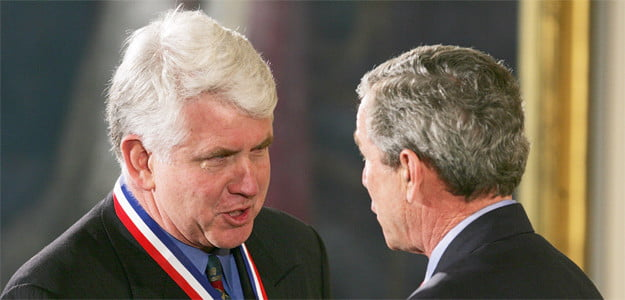 robert metcalfe with george bush