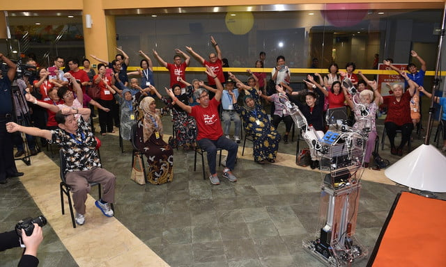 robocoach helps singapore seniors stay in shape