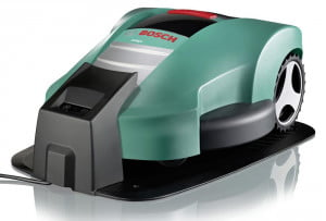 Bosch Indego on Charging Pad