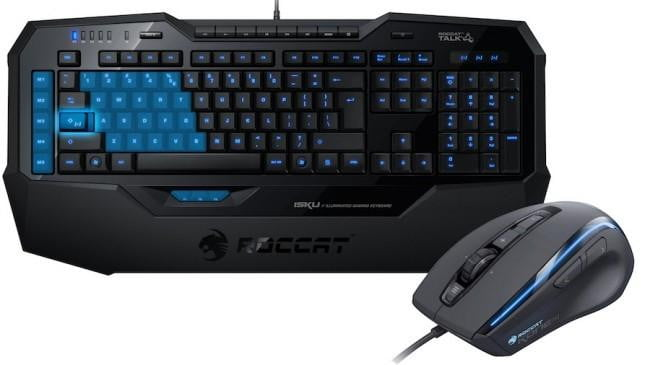 roccat isku gaming keyboard and kone mouse review