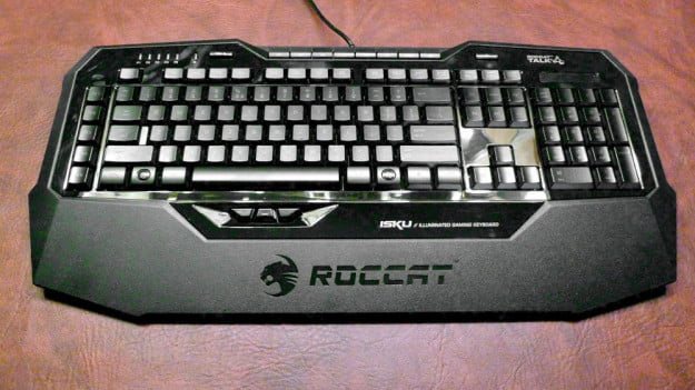 Roccat Isku gaming keyboard black