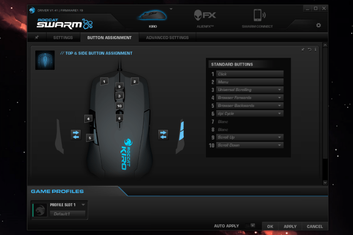 roccat kiro review software